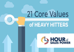 NEW Hour Of Sales Power: 21 Core Values of Heavy Hitters