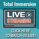 COMING UP: November 14-18, 2016 - Total Immersion Live Stream