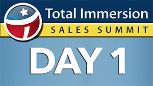 Total Immersion Training Audio Series: Day 1