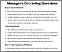 By Joe Crisara DOWNLOAD Managers Sales Call Debriefing Form
