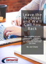 DOWNLOAD: Leave The Proposal & We'll Call You Back